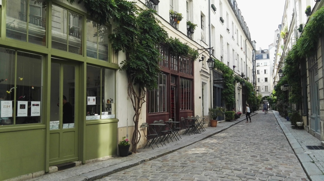 Cour Damoye Bastille Paris 12