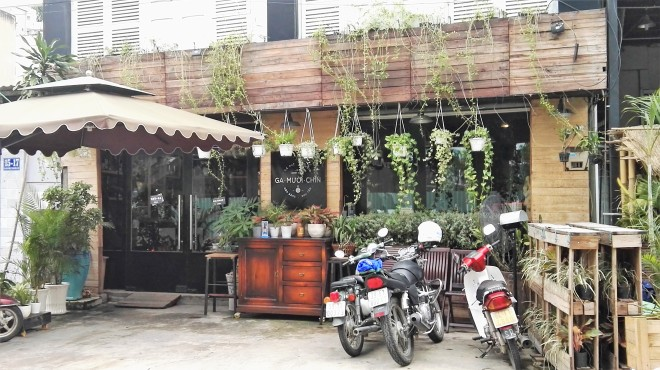 Cafe de Thao dien saigon vietnam