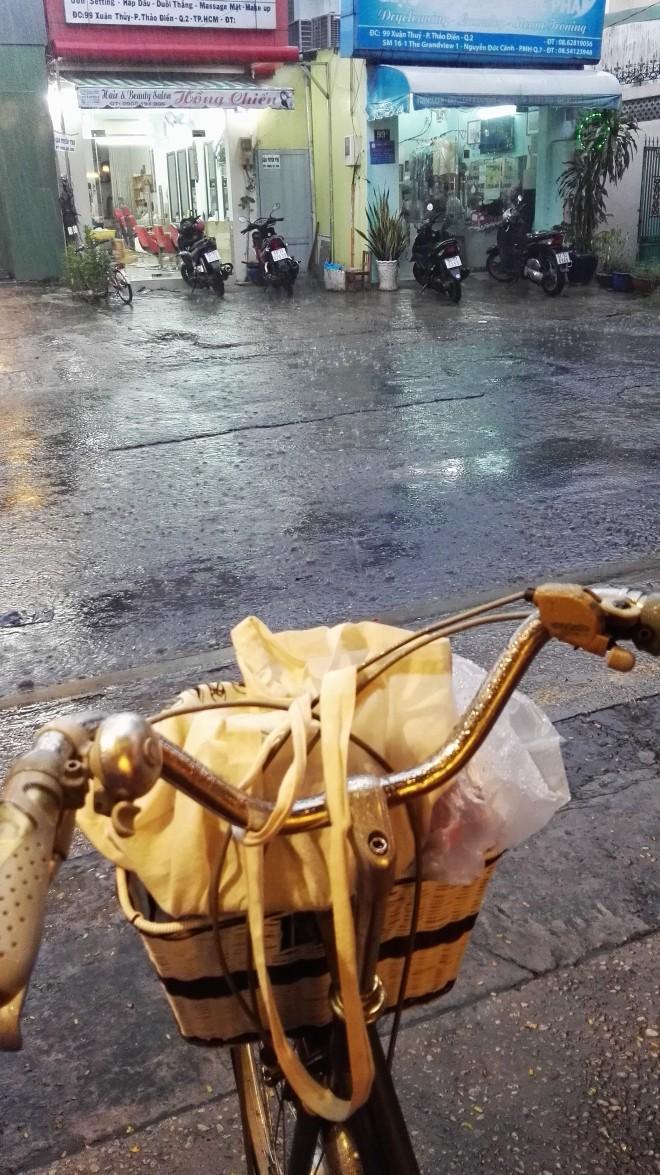 Averse à Saigon Vietnam