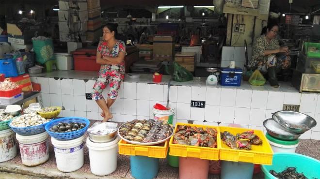 Marché Ben Thanh Ho Chi Minh Vietnam