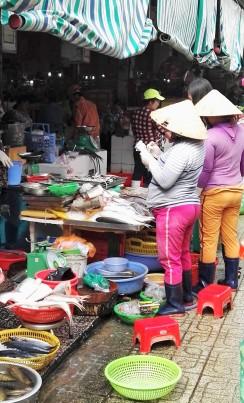 Marché Ben Thanh à Ho Chi Minh