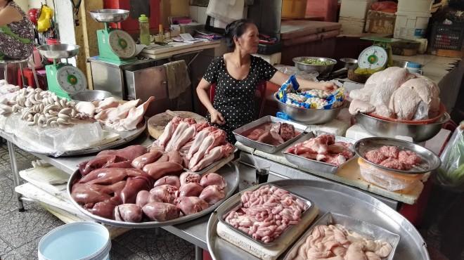 Marché Ben Thanh Ho Chi Minh
