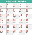 Plank challenge 1