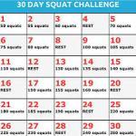 Squat challenge 1