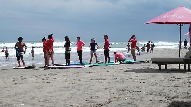 Plage de Seminyak Bali Indonésie