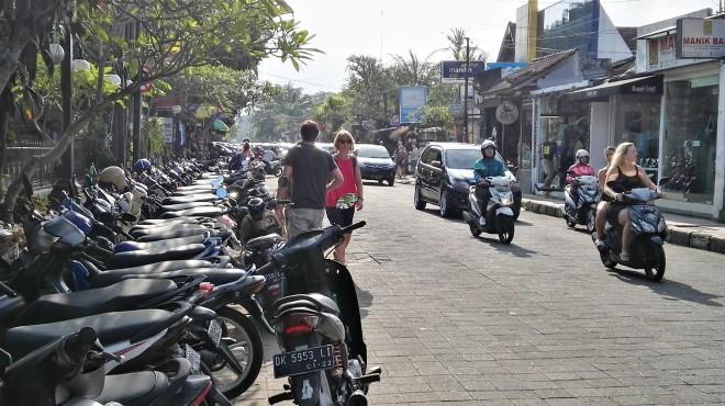 Rues d'Ubud Bali Indonésie