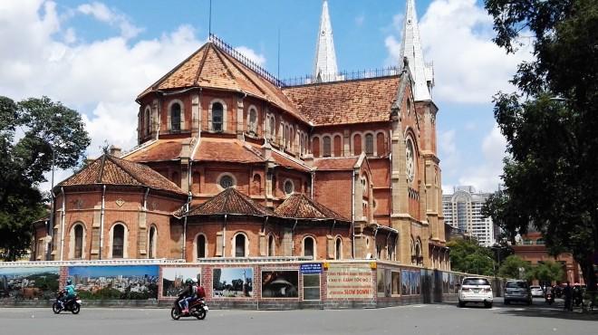 Cathédrale d'Ho Chi Minh, Vietnam