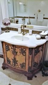 Salle de bain de l'hôtel Imperial