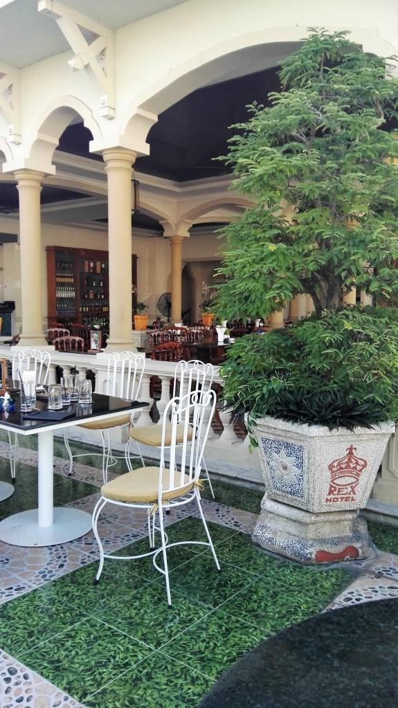 Terrasse de l'hôtel Rex, Ho Chi Minh, Vietnam