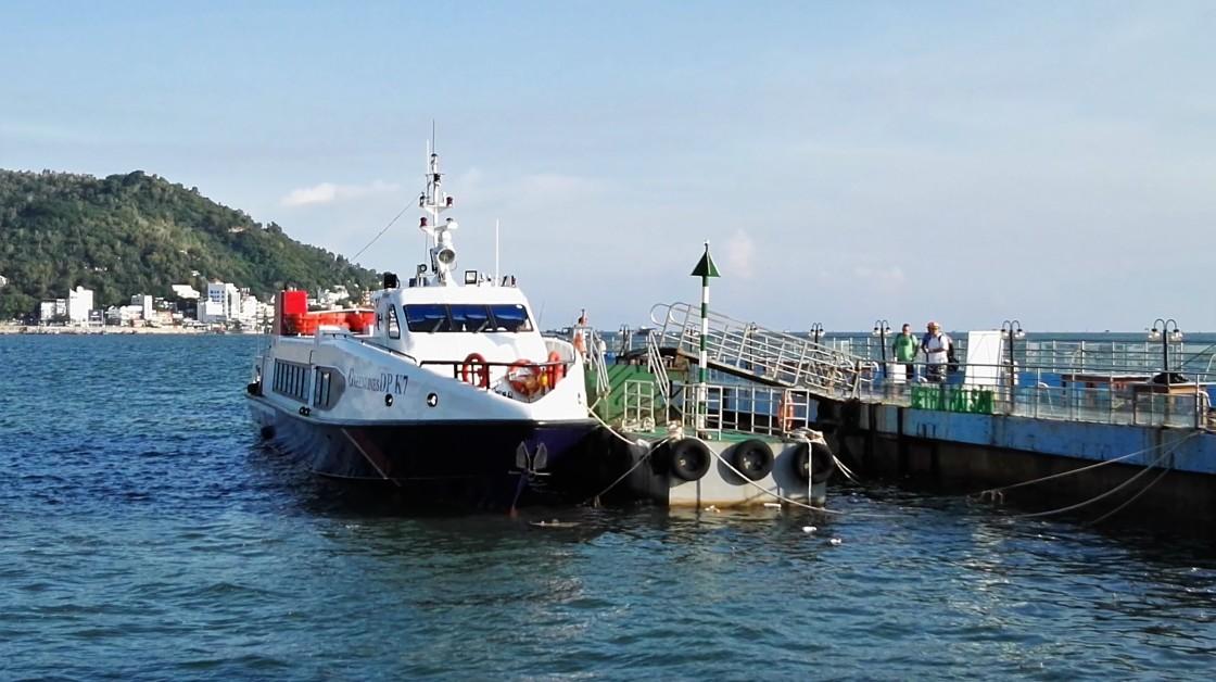 Le Speedboat vers Vung Tau, Vietnam