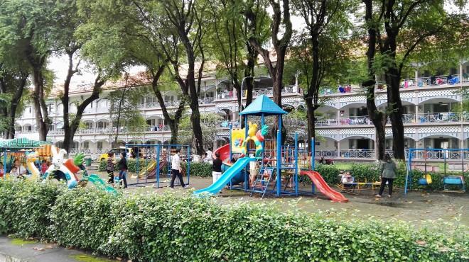 Jeux de l'Hôpital Graal Saigon Vietnam