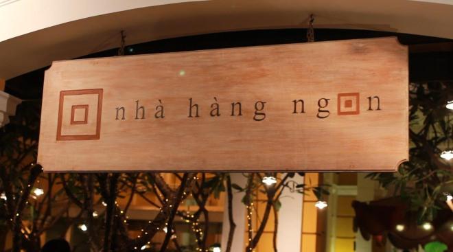 Restaurant Ngong Saigon Vietnam