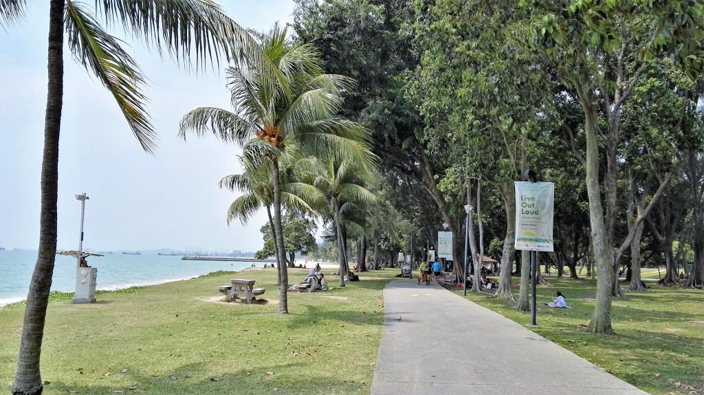 La mer à Singapour