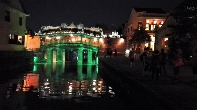 Le pont japonais de Hoi An Centre du Vietnam