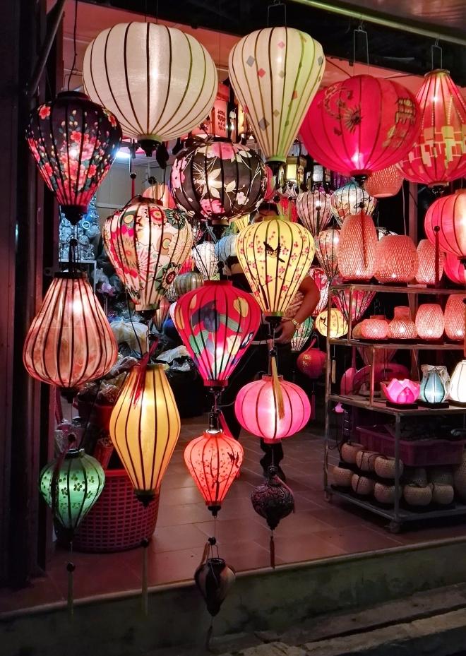 Les lampions de Hoi An Vietnam