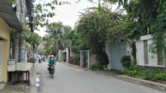 Rue de Thao Dien, Saigon, Vietnam
