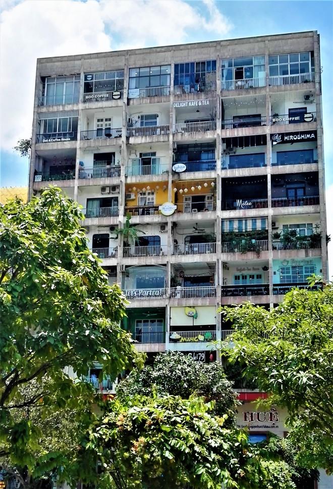 Immeuble du D1 sur Nguyen Hue, Ho Chi Minh City