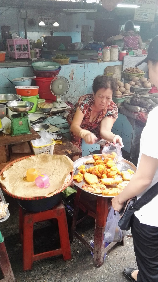 Food tour marché Vuon Chuoi SAigon D3