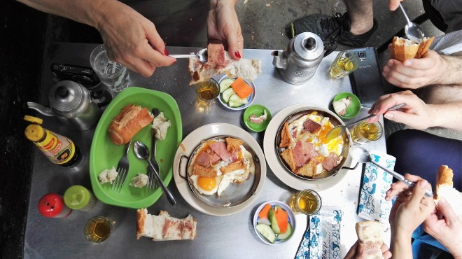 Food tour avec Saigon cooking class, Vietnam