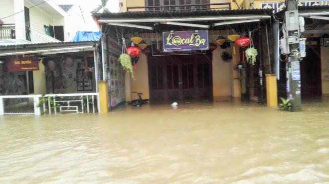 Hoi An sous les eaux, Vietnam