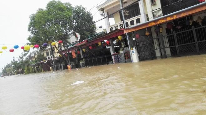 Inondations à Hoi An, Centre du Vietnam