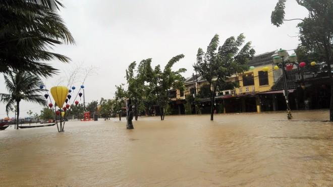 Hoi An sous les eaux, Centre du Vietnam