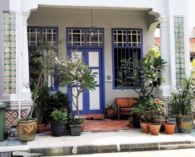 Maison du quartier de Katong, Singapour