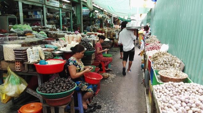 Marché de Binh Tay, Cholon, Saigon, Vietnam