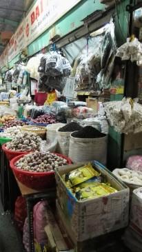 Stand du marché de Binh Tay