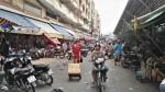 Extérieur marché de Binh Tay, Cholon, Saigon, Vietnam