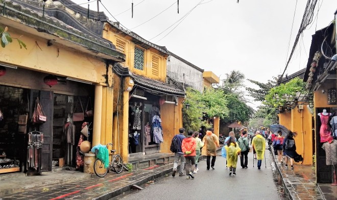 Rue de Hoi An Centre du Vietnam