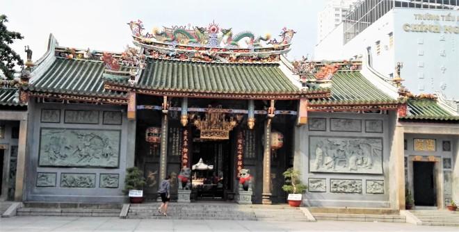Pagode Hội quán Nghĩa An, Saigon, Vietnam
