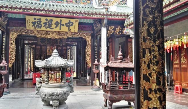 Pagode Hội quán Nghĩa An, Cholon, Saigon, Vietnam