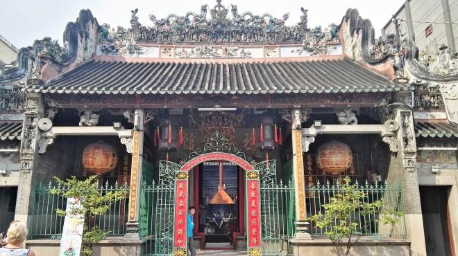 Temple de Bà Thiên Hậu, Saigon, Vietnam