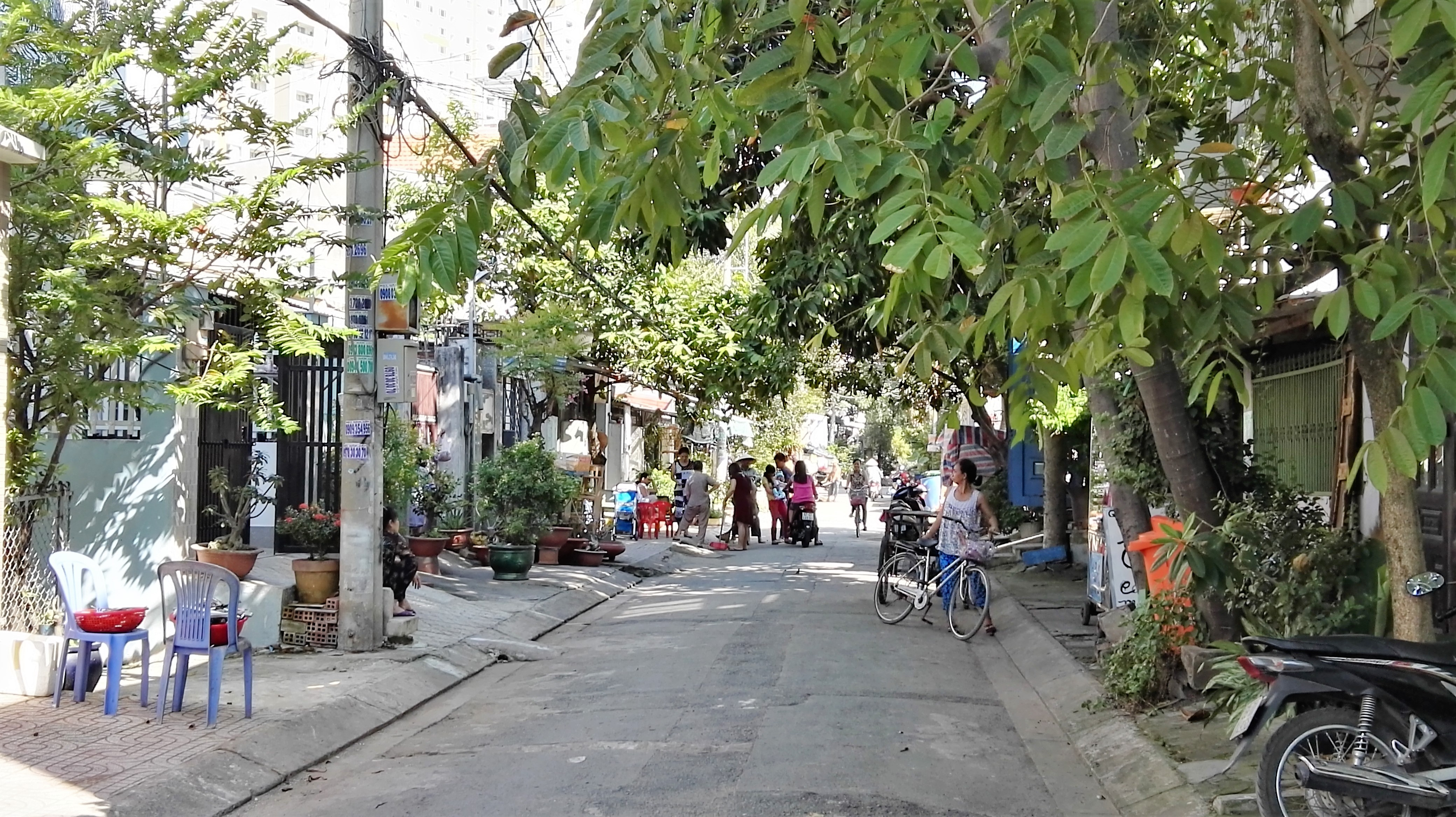 Rue de Thao Dien Saigon Vietnam