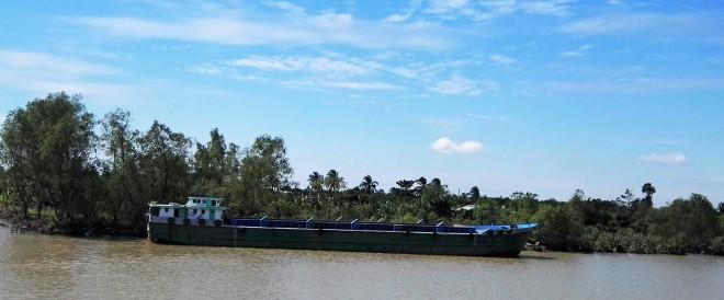 Bateau du Mekong Vietnam