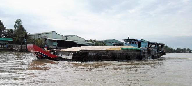 Bateau sur le Mekong, Delta, Vietnam