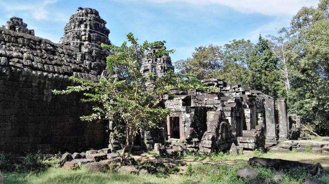 Siem Reap Angkor temples Cambodge