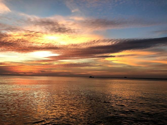 Coucher de soleil Long Beach Phu Quoc Vietnam