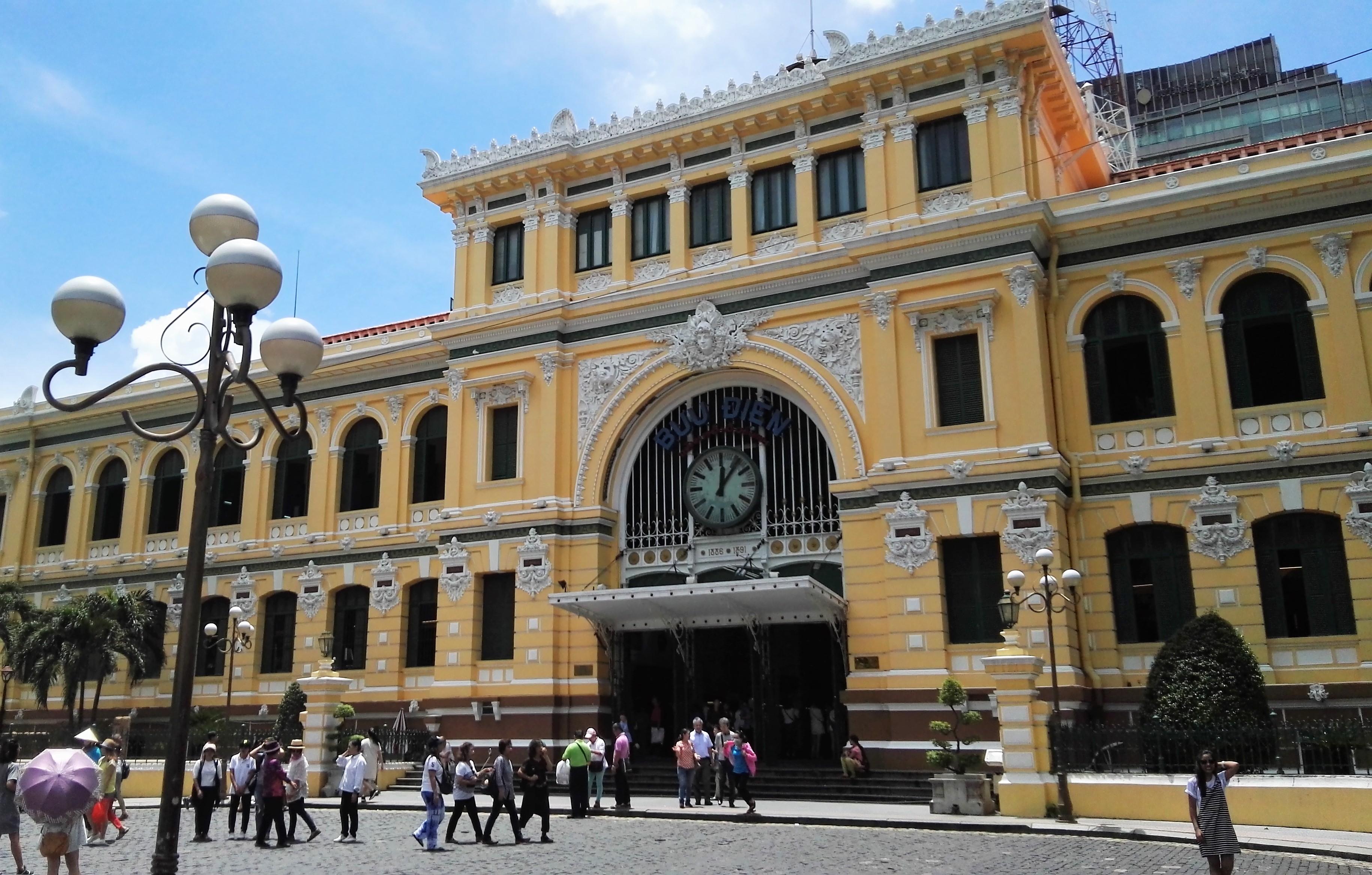 La poste de Saigon Vietnam