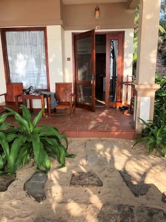 Côté pile : le bungalow