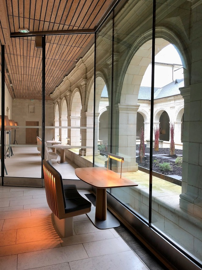 Le restaurant Abbaye de Fontevraud_interieur