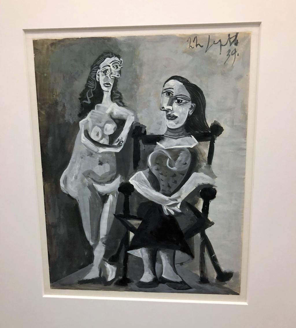 Musee Picasso Paris Marais deux femmes