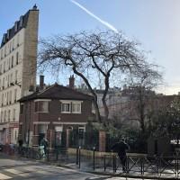 Paris sous un ciel bleu