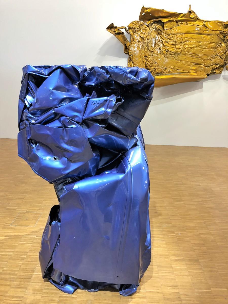 Les compressions de César à Pompidou