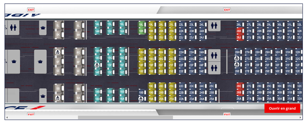 Plan de cabine Air France.png